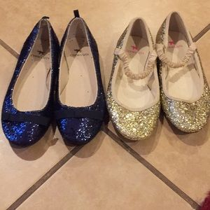 Brand new crew cuts sparkly dress shoes size 12